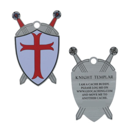 Oakcoins Travel Tag - Knight Templar