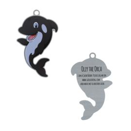Oakcoins Travel Tag - Olly the Orca