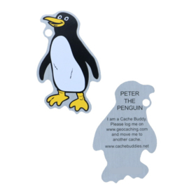 Oakcoins Travel Tag - Peter the Penguin