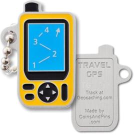 Coins and Pins Travel GPS tag
