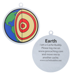 Oakcoins Travel Tag - Earth Icon