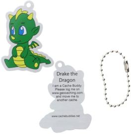 Oakcoins Travel Tag - Drake the Dragon