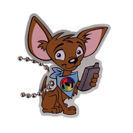 Cache Advance Tag Cachekinz™ - Charlie the Podcacher Chihuahua