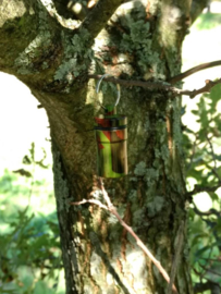 Micro Cache container - capsule (camouflage)
