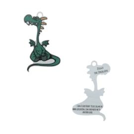 Oakcoins Travel Tag - Ziggy the Dragon