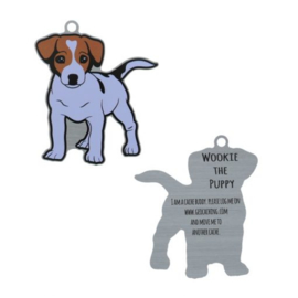 Oakcoins Travel Tag - Wookie the Puppy