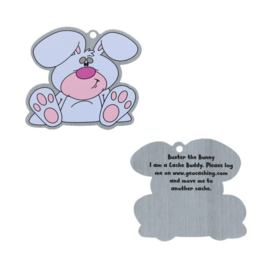 Oakcoins Travel Tag - Buster the Bunny