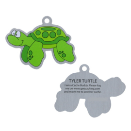 Oakcoins Travel Tag - Tyler the Turtle