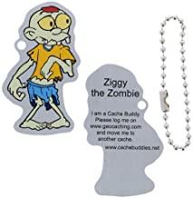 Ziggy-the-zombie travel tag
