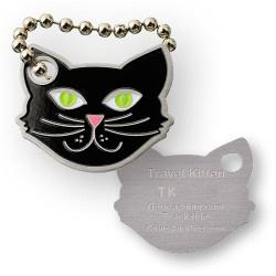 Coins and Pins Travel Kat tag