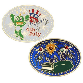 Coins and Pins Coin Happy 4th of July!