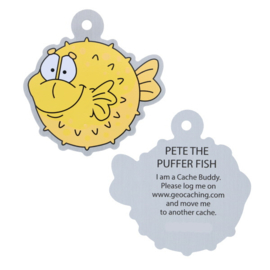 Oakcoins Travel Tag - Pete the Puffer Fish