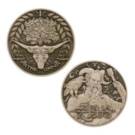 Groundspeak Geocoin Griekse Goden - Zeus