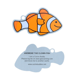 Oakcoins Travel Tag - Anemone the Clown Fish