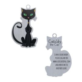 Oakcoins Travel Tag - Catsidy the Black Cat