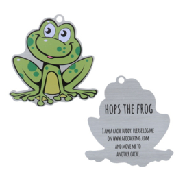 Oakcoins Travel Tag - Hops the Frog