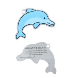 Oakcoins Travel Tag - Daphne the Dolphin