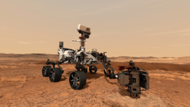 Mars Rover Perseverance trackable tag