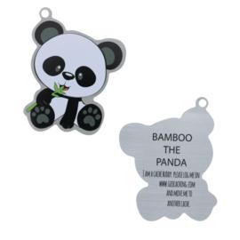 Oakcoins Travel Tag - Bamboo the Panda