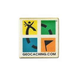 Groundspeak Logo pin - kleur
