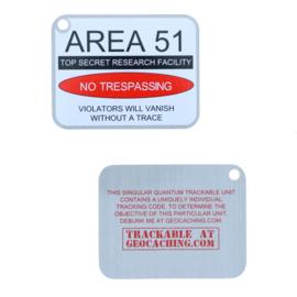 Oakcoins Travel Tag - Area 51