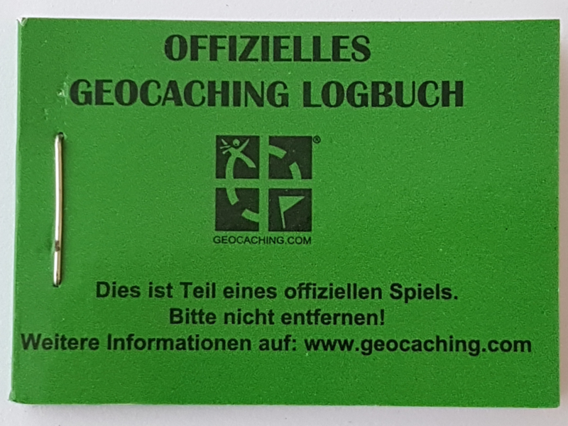 CacheQuarter Logboek small - 100 logs - Duitstalig