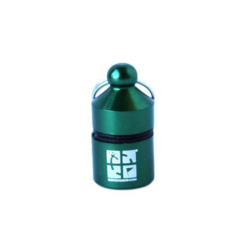 Groundspeak Nano container (hangend) groen