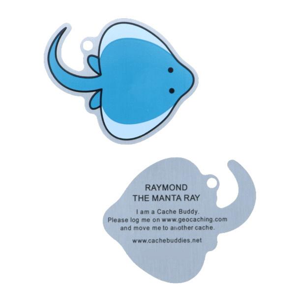 Oakcoins Travel Tag - Raymond the Manta Ray