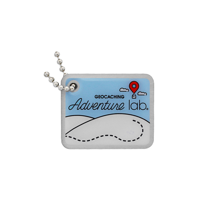 Groundspeak Adventure Lab - Travel Tag