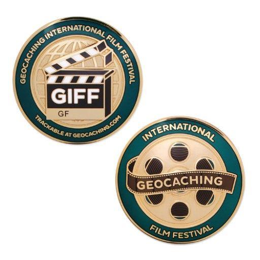 Groundspeak Geocoin International Film Festival