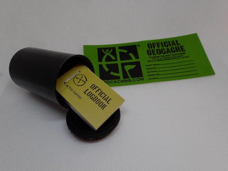 GC webwinkel Micro container - fotorolletje (zwart)