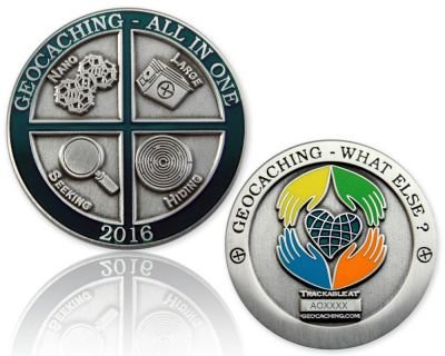 CacheQuarter All In One 2016: Geocaching, what else? - antiek zilver