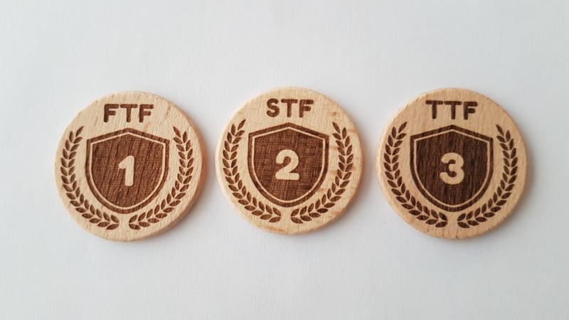 Set FTF, STF, TFT woodies