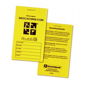 Groundspeak logboek small - Rite-in-the-Rain