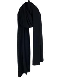Sjaal Sjaalmania Cosy Chique Solid Black
