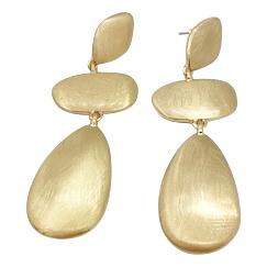 Oorbel Golden Stones