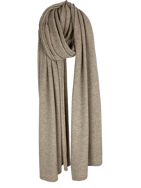 Sjaal Sjaalmania Cosy Chique Soft Taupe Melé