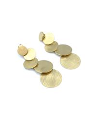 Oorbel gouden rondjes