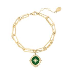 Armband North Star Green