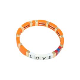 Armband Metal Love