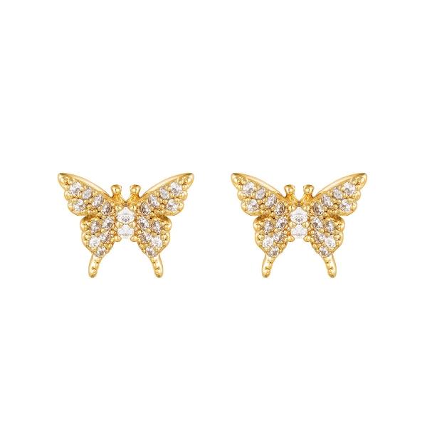 Oorbel Sparkling Butterfly