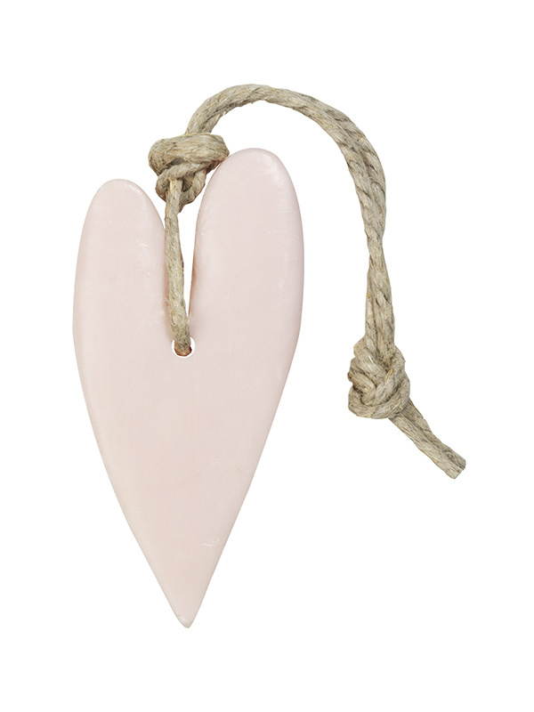 Hart XL 100 gram licht roze parfum mille fleurs