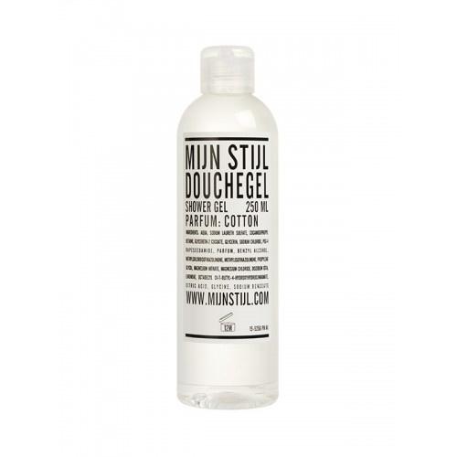 Douchegel transparant parfum Cotton 250 ml