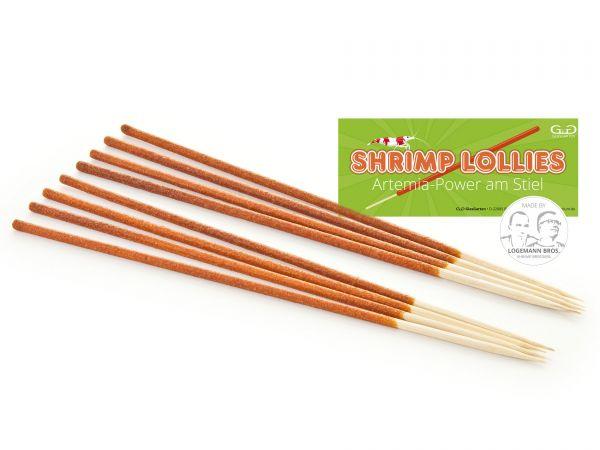 Glasgarten Shrimp Lollies   Artemia 8 stuks