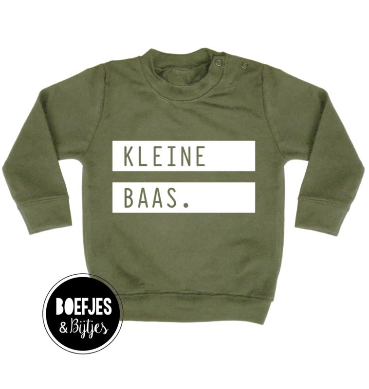 KLEINE BAAS - SWEATER