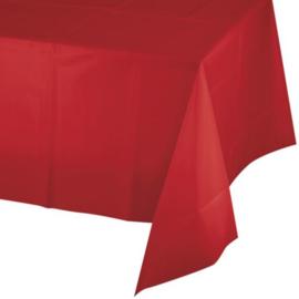 Tafelkleed classic red (137x274cm)