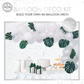 Ballon deco kit ''Wit''