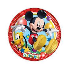 Borden ''Mickey mouse'' (8 stuks)