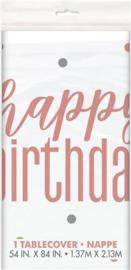 Tafelkleed ''Happy Birthday'' (137 x 213 cm)
