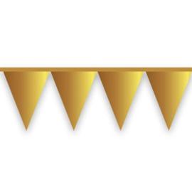 Vlaggenlijn goud mat (10meter)